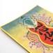 肉筆浮世絵 『蛇と菊菊』原画 ミニ色紙