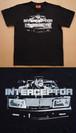 ブラックインターセプターTシャツ