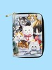 #MP-002 CATプリント 財布(2つ折りタイプ)