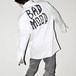 『ZL BY ZLISM』 over sized white shirt jacket
