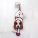 D-040 柴犬-犬の振り子時計