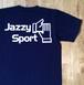 JS ロゴ Tシャツ/ネイビー