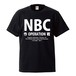 NBC作戦 OFFICIAL LOGO T-SHIRT