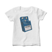 THE BAUM チャビンソンのBD-2 レディース白Tシャツ(完成形・展開図)