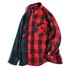"""Magfacture """"UNION FLANNEL SHIRT"""" RED×GREEN size:M"""