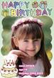 お子様向け誕生日ポスター_10 A4サイズ