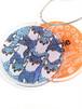 【クリックポスト対応】marble SUD(マーブルシュッド) キーホルダー MARBLE キーホルダー 2 猫 オレンジ ねこのもり