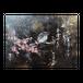 【木パネル】梅とうぐいす【F4/33.3×24.2cm】