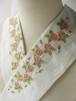 刺繍半衿・ロマンの薔薇・ハンドワッシャー布