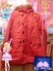 濃いめピンクのコート/古着