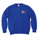 ERICH / ONEPOINT EIGHT-BALL LOGO CREWNECK SWEAT ROYAL