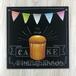 【黒板&見本&動画】はじめてさんのシンプルカップケーキ