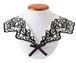 ジャバラ刺繍の付け襟(ホワイト)