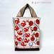 オレンジのザクロ柄がカワイイ♪スザニのバッグ【A4が入ります】/着物に合うバッグ(送料無料)