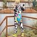 9711レディース サロペット オーバーオール パンツ 大きいサイズ オーバーサイズ レトロ レトロ ヒップホップ ストリート系 プリント 原宿系