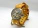 手作り時計 Hand Craft Watch 手巻きBrassMens 数字インデックス BHW088 SV/CA