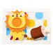 Happy Lion ~3D Photo ART~