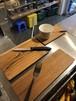 チーク材のプレートボード L