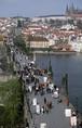 チェコ プラハの街並み