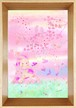 桜色ポストカードサイズ額入り