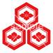 誓願寺 紋様落款 <MS016> 神紋・寺紋 はんこ (21mm 印鑑)