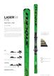 18'-19'|LASER SX FIS / N SP12 Ti green S75