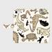 iPhone 手帳型ケース「ブロントサウルス」