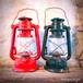 【送料込】アメリカンヴィンテージ 中国製 王光牌 225 ランタン 赤/黒 オイルランプ 【ジャンク】【F-036/037-005】