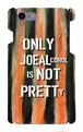 【受注生産】iPhone7対応 「ONLY JOE ALCOHOL IS NOT PRETTY」レッド iPhoneケース
