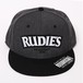 "RUDIE'S / ルーディーズ |  "" SLICK "" SNAPBACKCAP - CHARCOAL/BLACK"