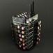 プレミアムアクリル 回転 64リップスティックタワー (コスメボックス)  NL-COM063