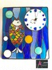 魚の壁掛け時計