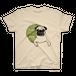パグちゃん Tシャツ【フォーン×緑】