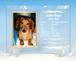 フォトスタンド(血統書)曲ガラス  商品ID:FS-0073               アクリルスタンド付 ギフト包装無料 送料別途(サイズ60)