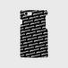 (通販限定)【送料無料】iPhone8_スマホケース ストライプ_ブラック