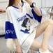 【トップス】学園風超人気かっこいいプリントロングTシャツ21226402