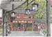 「水彩画ミニアート」京都 八坂神社