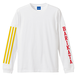 BARIKATA ロングTシャツ(ホワイト)