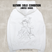 Cross & Stitch 10oz Pullover hoodie(S,M,L,XL)/ White