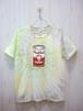 "Peach Heads ""Peach Can"" Tie Dye T-Shirt/About 10th Anniv. (ピーチヘッズ ピーチ缶 タイダイTシャツ/約10周年)"