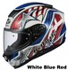 OGK AEROBLADE-5 VISION White Blue Red