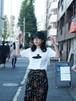 石器Tシャツ(石匙/白)