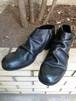 PADRONE : ショートサイドジップブーツ (BLACK)