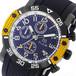 エルジン ELGIN クオーツ クロノ メンズ 腕時計 EG-001-Y イエロー ブラック