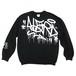 """Lightweight-Sweatshirts """"Taggin"""" BLK"""