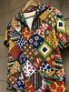 Old American quilting pullover shirts