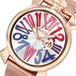 ガガミラノ GAGA MILANO SLIM スリム 46mm 腕時計 クオーツ メンズ 5081.1 シルバー ピンクゴールド シルバー
