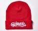 2019 Rakugaki Main Logo Knit Cap Red