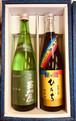 【ギフト/セット】日本酒セット /(艶やかひたち純米+苗加屋 純米吟醸 玲碧(れいのへき)/720ml×2本/ 夏(7月,8月,9月)はクール便必須となります。