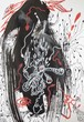 B6展望台【根本敬B6ドローイング&コラージュ】清山飯坂温泉芸術祭シリーズ③※B6サイズ・ネットショップOPEN特価!
